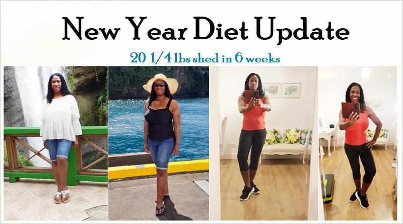Diet Update: how to lose 20lbs in 6 weeks