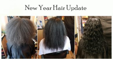 New Year natural hair update – healthy diet stimulates growth